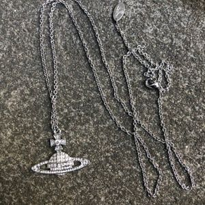 Vivienne Westwood Crystal Orb Necklace